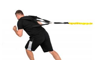 Спортивные тренировочные тросы (корды)
