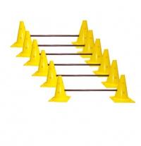 Набор барьеров с конусами 6 шт