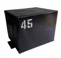 Прыжковая тумба черная 45 см