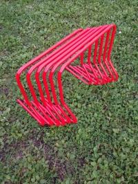 Набор спортивных тренировочных барьеров 45 см