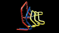 Набор барьеров тренировочных алюминиевых 5 шт