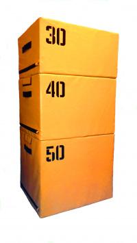 Набор прыжковых тумб 3 шт. Желтый