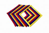 Футбольные тренировочные ромбы, квадраты 40 см. 9 шт