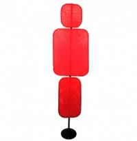 Силуэт игрока 180 см красный