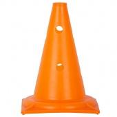 Конус спортивный для разметки с отверстиями оранжевый 32 см