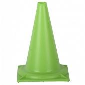 Конус для тренировочный пластиковый 32 см. Зеленый